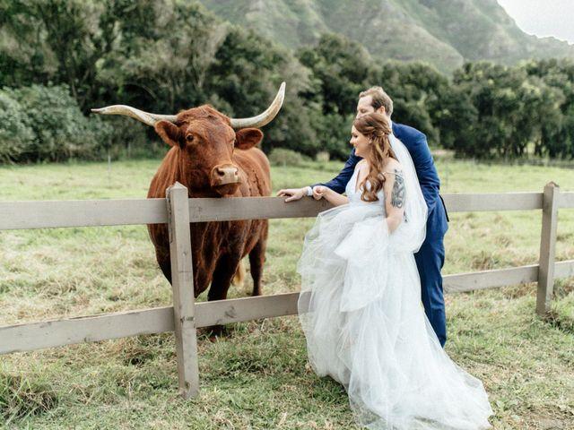Zeke and Kimberley's Wedding in Kaneohe, Hawaii 21