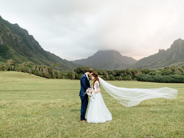 Zeke and Kimberley's Wedding in Kaneohe, Hawaii 22