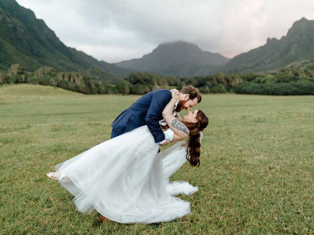 Zeke and Kimberley's Wedding in Kaneohe, Hawaii 23