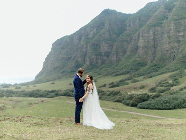 Zeke and Kimberley's Wedding in Kaneohe, Hawaii 25
