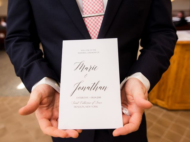 Johnathan and Marie's Wedding in Rochester, New York 6