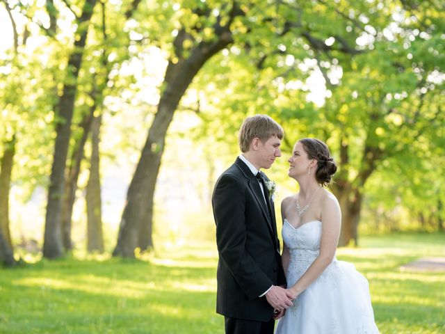 The wedding of Cassie and Kyle
