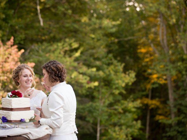 Martha and Victoria's Wedding in Sylva, North Carolina 4