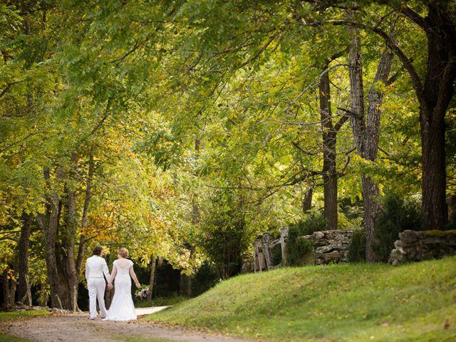 Martha and Victoria's Wedding in Sylva, North Carolina 1