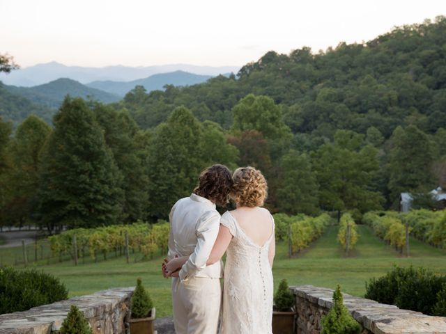 Martha and Victoria's Wedding in Sylva, North Carolina 2