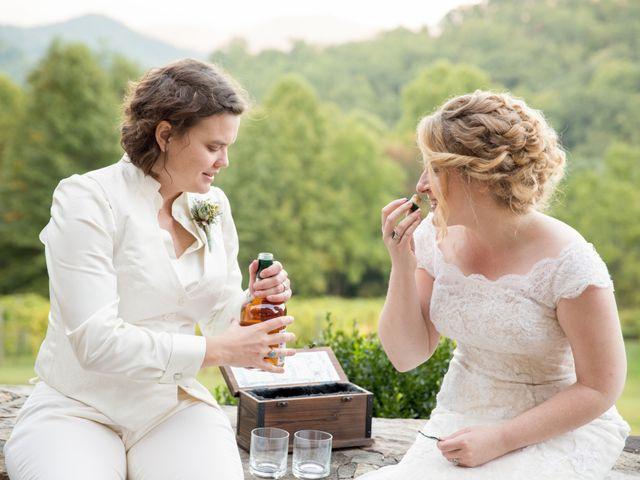 Martha and Victoria's Wedding in Sylva, North Carolina 6