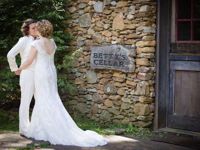 Martha and Victoria's Wedding in Sylva, North Carolina 10