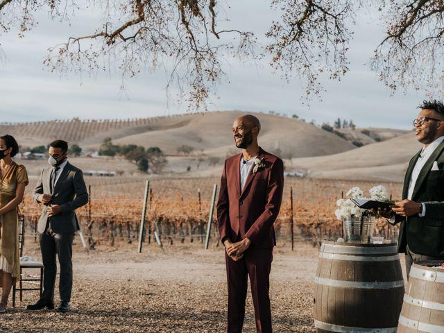 Calvin and Delena's Wedding in Paso Robles, California 18