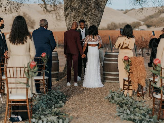 Calvin and Delena's Wedding in Paso Robles, California 20