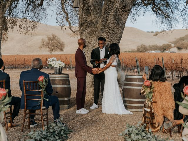 Calvin and Delena's Wedding in Paso Robles, California 27