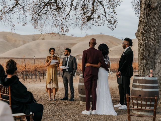 Calvin and Delena's Wedding in Paso Robles, California 28