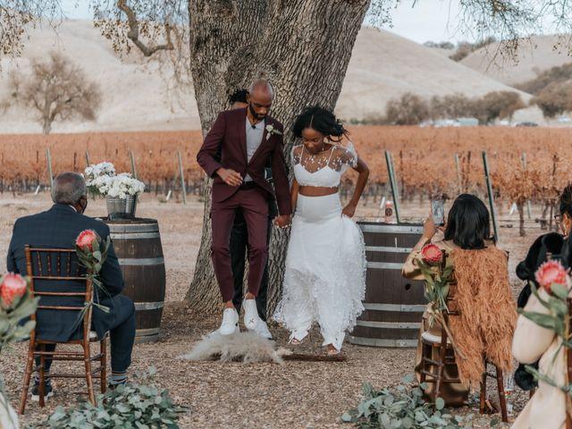 Calvin and Delena's Wedding in Paso Robles, California 30