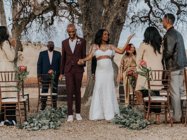 Calvin and Delena's Wedding in Paso Robles, California 31