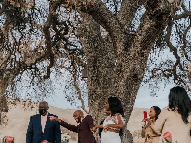 Calvin and Delena's Wedding in Paso Robles, California 32
