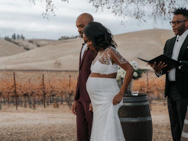 Calvin and Delena's Wedding in Paso Robles, California 33