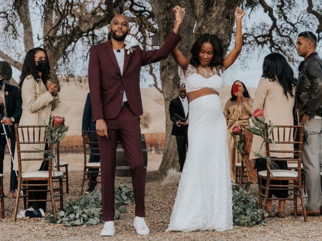 Calvin and Delena's Wedding in Paso Robles, California 34