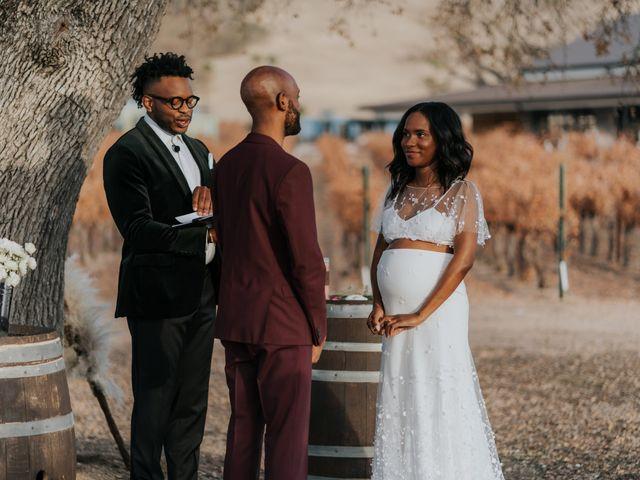Calvin and Delena's Wedding in Paso Robles, California 36
