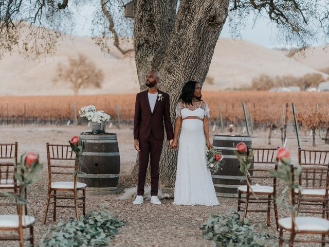 Calvin and Delena's Wedding in Paso Robles, California 42
