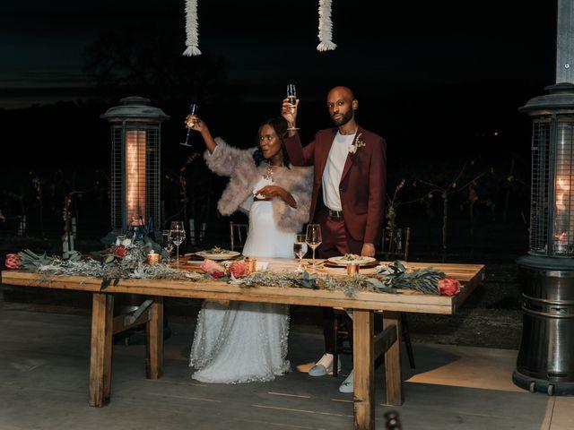 Calvin and Delena's Wedding in Paso Robles, California 51