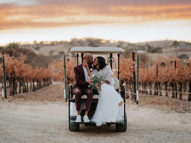 Calvin and Delena's Wedding in Paso Robles, California 1