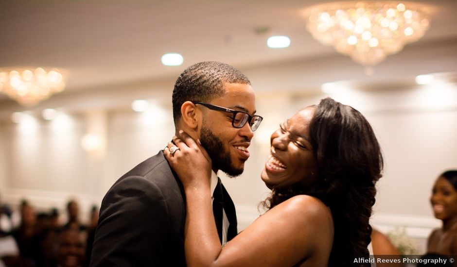 Kierra Savage and Robert's Wedding in Detroit, Michigan