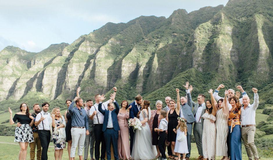 Zeke and Kimberley's Wedding in Kaneohe, Hawaii