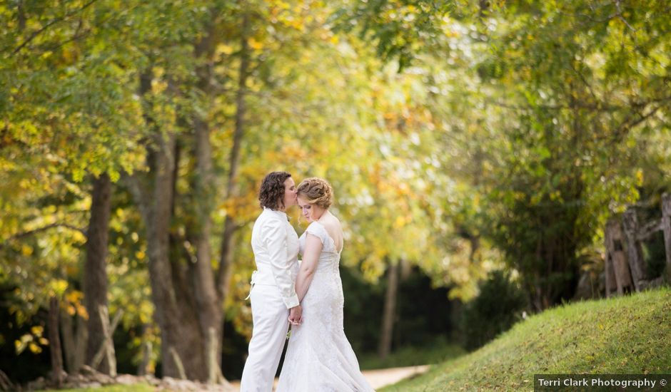 Martha and Victoria's Wedding in Sylva, North Carolina