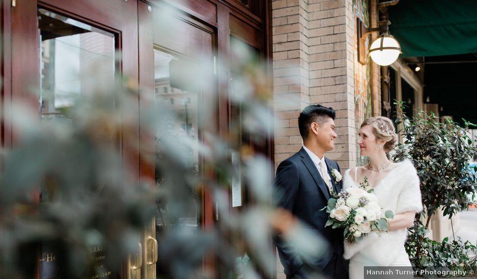 Jojoe and Meegan's Wedding in Portland, Oregon