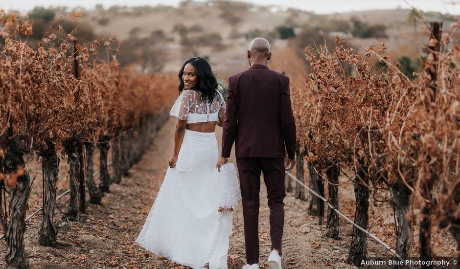 Calvin and Delena's Wedding in Paso Robles, California