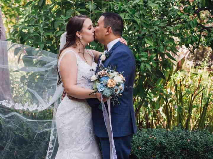 The wedding of Natalie and Bertrand