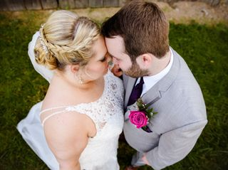 The wedding of Grace and Nick