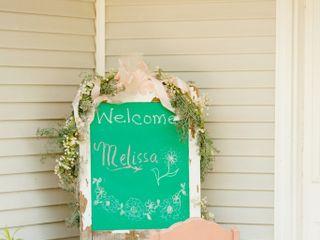 The wedding of Melissa and Joshua 1