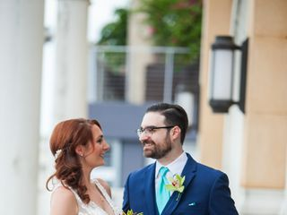 The wedding of Tara and Steven 1