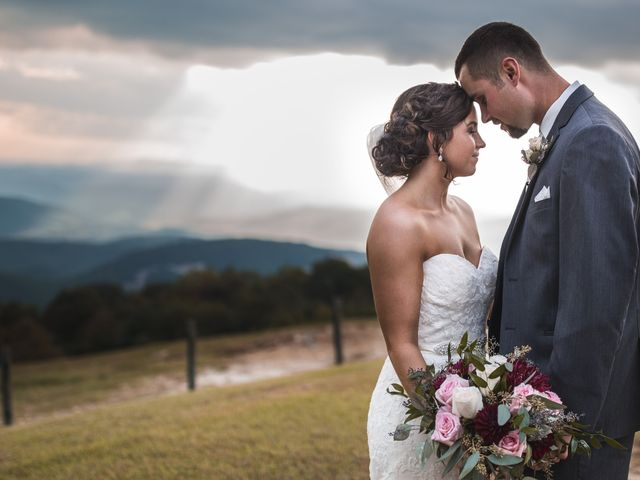 The wedding of Autumn and Jared