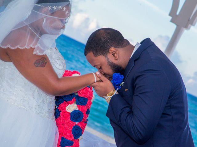 The wedding of Moet and Khaliff