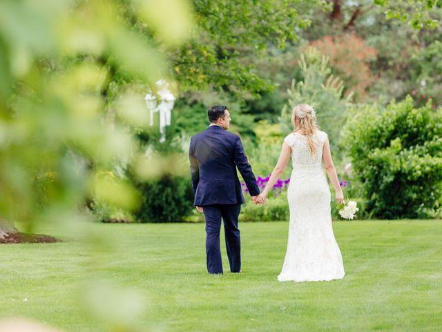 The wedding of Melissa and Joshua