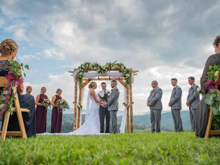 The wedding of Cassie and Cody