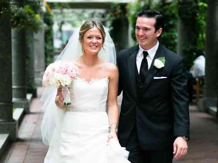 The wedding of Patrick and Lauren
