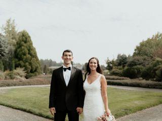 The wedding of Brenna and Joe