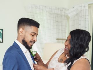 The wedding of Sarah and Raysean 1