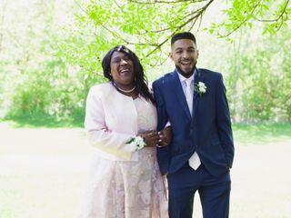 The wedding of Sarah and Raysean 3