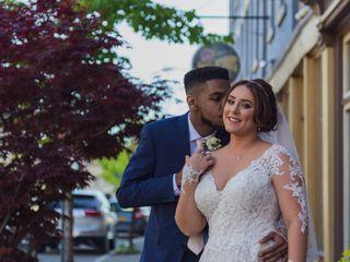 The wedding of Sarah and Raysean