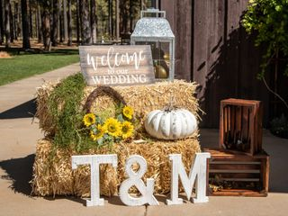 The wedding of Travis and Makayla 1
