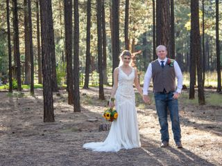 The wedding of Travis and Makayla