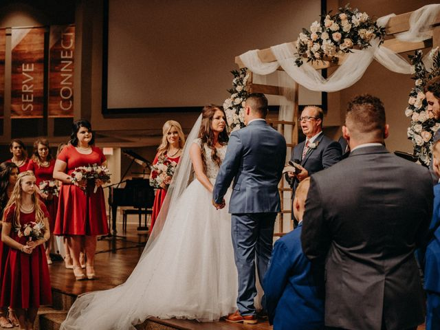The wedding of MaKenzie and Noah