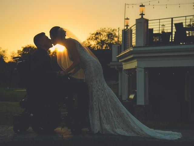 The wedding of Ashley and Joe