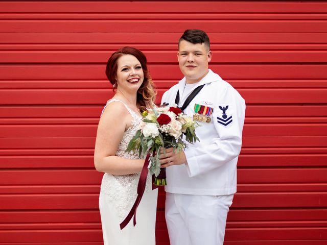 The wedding of Kristen and Aron
