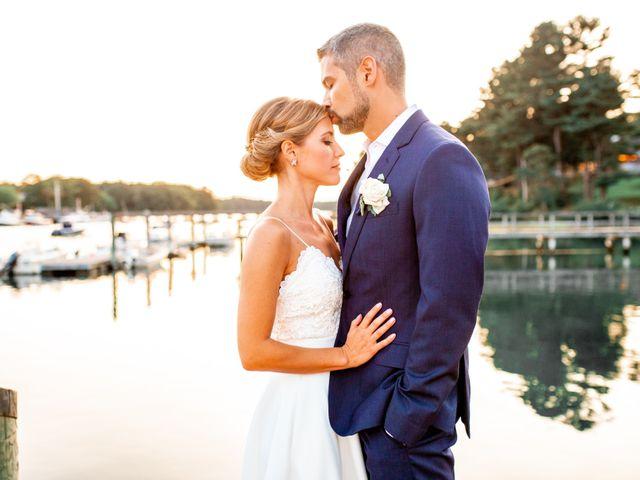The wedding of Hannah and David