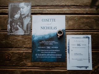 The wedding of Cosette and Nick 1
