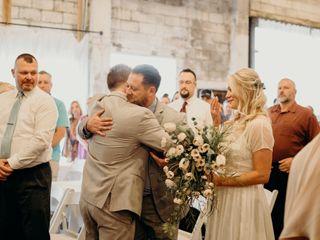 The wedding of Logan and Auston 1